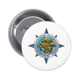 United States Transportation Command Pinback Button