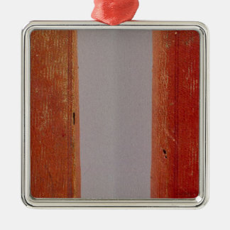 United States traveller's directory Square Metal Christmas Ornament