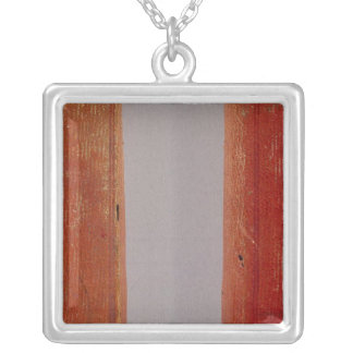 United States traveller's directory Silver Plated Necklace
