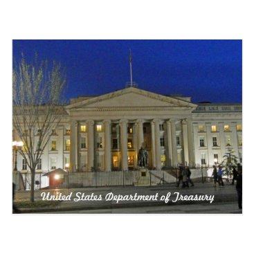 teknogeek United States Treasury Department Washington DC Postcard
