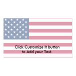 United States, United Arab Emirates flag Double-Sided Standard Business Cards (Pack Of 100)