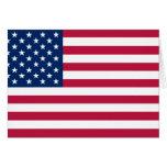 United States, United Arab Emirates flag Greeting Card