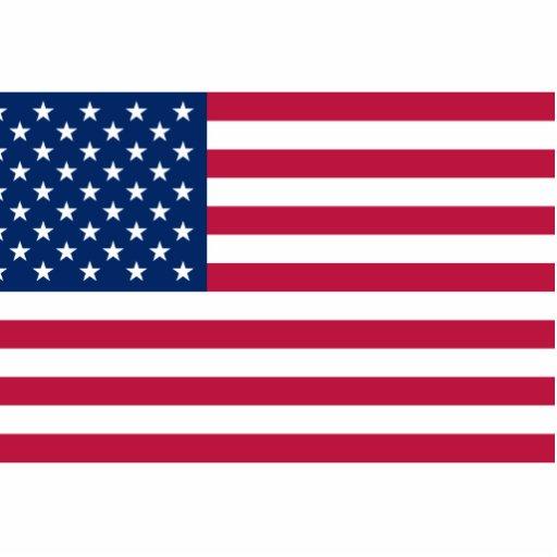 United States, United Arab Emirates flag Acrylic Cut Outs