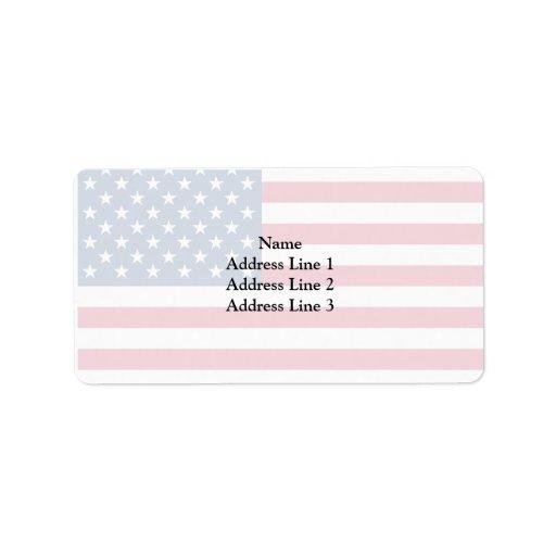 United States, United States Personalized Address Label