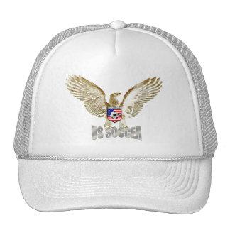 United States US soccer Eagle soccer artwork Hat