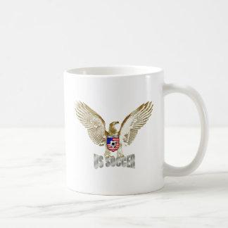 United States US soccer Eagle soccer artwork Coffee Mugs
