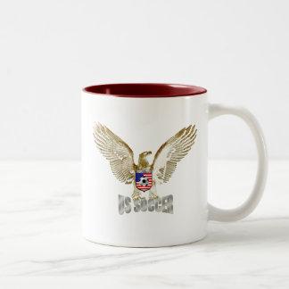 United States US soccer Eagle soccer artwork Coffee Mug