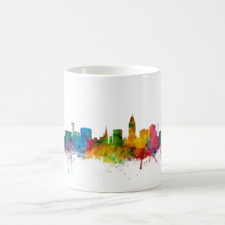 """united states"", usa, ""city skyline"", watercolour, coffee mug"