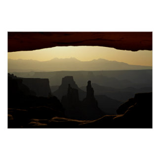 United States, Utah, Canyonlands National Park 3 Poster