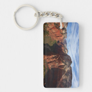United States, Utah, Zion National Park Keychain