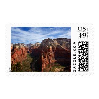 United States, Utah, Zion National Park Stamp