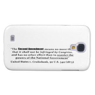 United States v. Cruikshank, 92 U.S. 542 (1875) Samsung Galaxy S4 Case