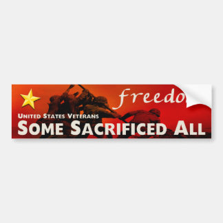 United States Veterans Bumper Stickers