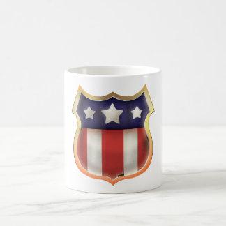 United States Vintage Shield Coffee Mug
