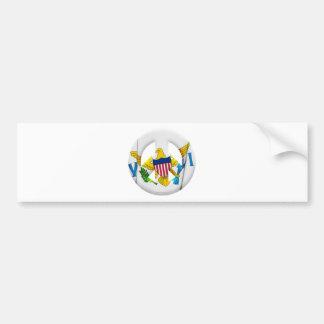 United States Virgin Islands Car Bumper Sticker