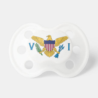 United States Virgin Islands Flag BooginHead Pacifier