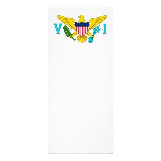 United States Virgin Islands Flag Rack Cards