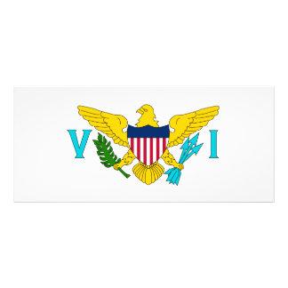 United States Virgin Islands Flag Custom Rack Card