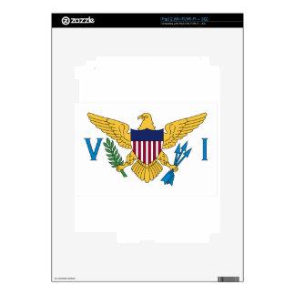 United States Virgin Islands Flag Skins For iPad 2