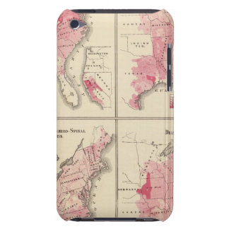 United States vitality maps iPod Touch Case