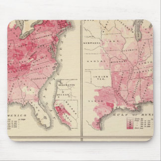 United States vitality maps Mouse Pad
