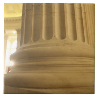 United States, Washington, D.C. A Pillar in the Ceramic Tile
