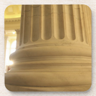United States, Washington, D.C. A Pillar in the Drink Coaster