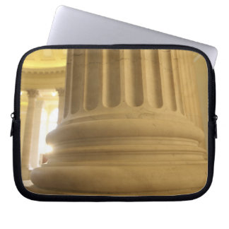 United States, Washington, D.C. A Pillar in the Laptop Sleeves