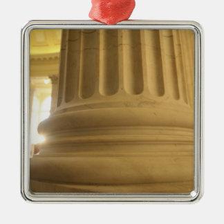 United States, Washington, D.C. A Pillar in the Metal Ornament