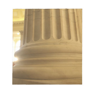 United States, Washington, D.C. A Pillar in the Note Pad