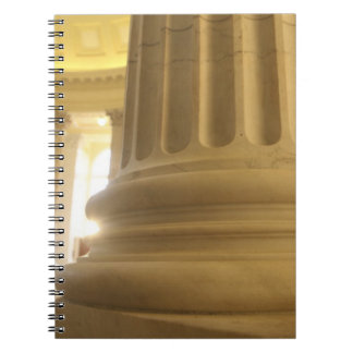 United States, Washington, D.C. A Pillar in the Note Books