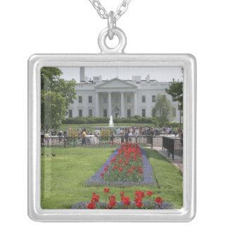 United States, Washington, D.C. The North side Square Pendant Necklace