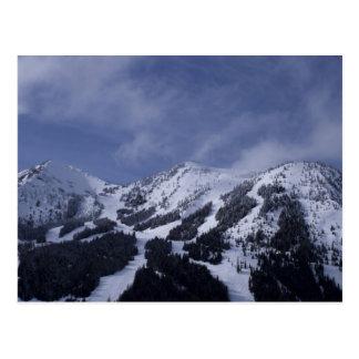United States, Washington, ski trails at Postcard