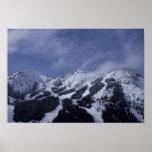 United States, Washington, ski trails at Poster