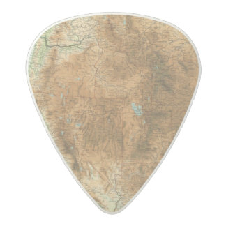 United States western section Acetal Guitar Pick