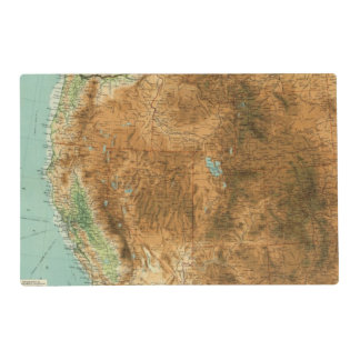 United States western section Placemat