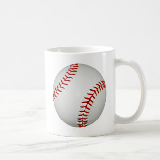 United States White Bright American Baseball Coffee Mug