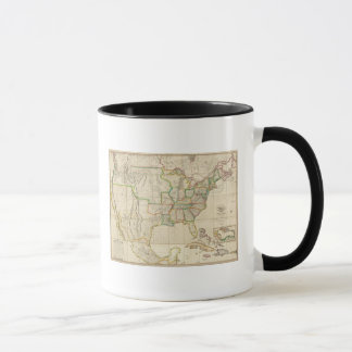 United States with the Contiguous British Mug