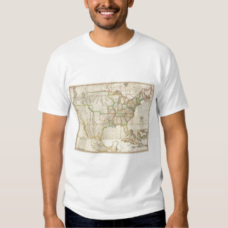 United States with the Contiguous British Tee Shirt