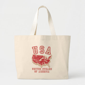 United Steaks of America Canvas Bags
