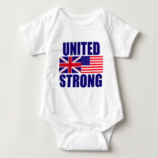 United Strong Baby Bodysuit