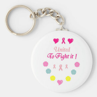 United to Fight Breast Cancer Keychain