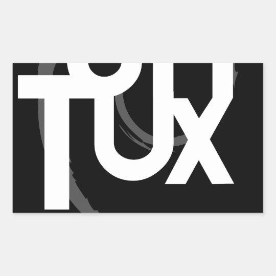 United Tux Rectangular Sticker