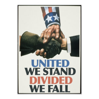 United Unions Stand Card