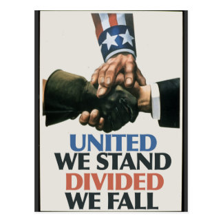 United Unions Stand Postcard