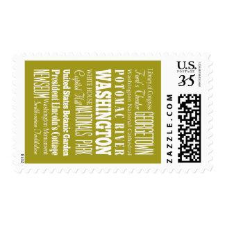 United Washington, Columbia Gift Idea Postage Stamp