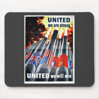 United We Are Strong Mouse Pad