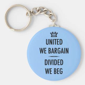 United We Bargain Keychain