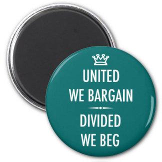 United We Bargain 2 Inch Round Magnet