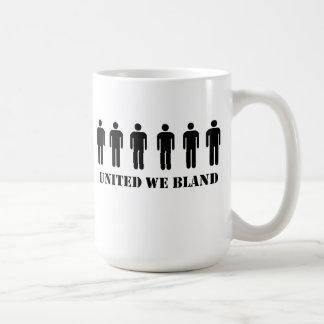 UNITED WE BLAND CLASSIC WHITE COFFEE MUG